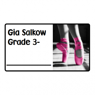 Personalised School Book Labels - R50 for 21 labels